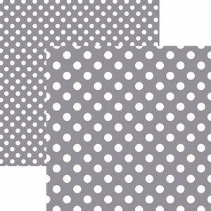 Papel-Scrapbook-Dupla-Face-Basico-305x305cm-Poa-Grande-Cinza-KFSB486---Toke-e-Crie-by-Mariceli
