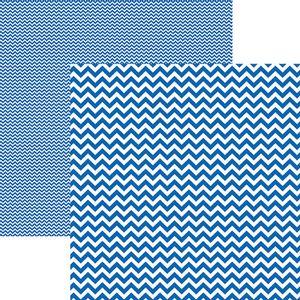 Papel-Scrapbook-Dupla-Face-Basico-305x305cm-Chevron-Azul-Royal-KFSB411---Toke-e-Crie-by-Mariceli