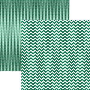 Papel-Scrapbook-Dupla-Face-Basico-305x305cm-Chevron-Verde-KFSB410---Toke-e-Crie-by-Mariceli