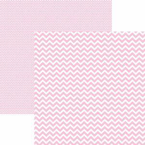 Papel-Scrapbook-Dupla-Face-Basico-305x305cm-Chevron-Rosa-Claro-KFSB420---Toke-e-Crie-by-Mariceli