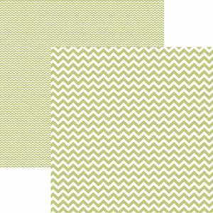 Papel-Scrapbook-Dupla-Face-Basico-305x305cm-Chevron-Verde-Claro-KFSB422---Toke-e-Crie-by-Mariceli