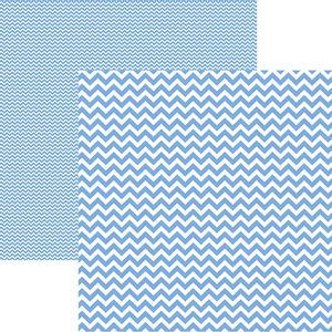Papel-Scrapbook-Dupla-Face-Basico-305x305cm-Chevron-Azul-Serenity-KFSB425---Toke-e-Crie-by-Mariceli
