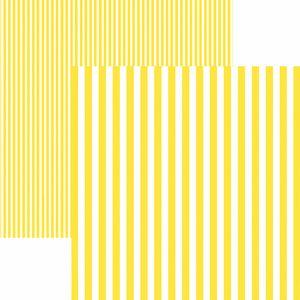 Papel-Scrapbook-Dupla-Face-Basico-305x305cm-Listras-Amarela-KFSB429---Toke-e-Crie-by-Mariceli