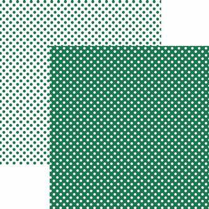 Papel-Scrapbook-Dupla-Face-Basico-305x305cm-Poa-Pequeno-Verde-KFSB450---Toke-e-Crie-by-Mariceli