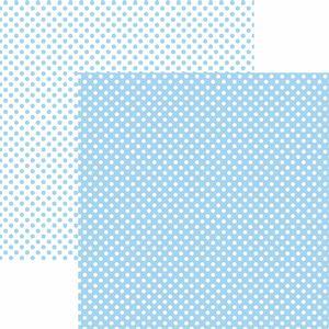Papel-Scrapbook-Dupla-Face-Basico-305x305cm-Poa-Pequeno-Azul-Claro-KFSB461---Toke-e-Crie-by-Mariceli