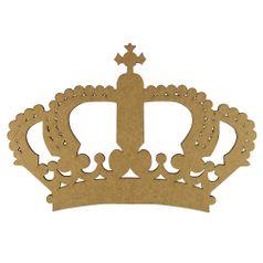 Aplique-Coroa-Imperial-em-MDF-10x68cm---Palacio-da-Arte