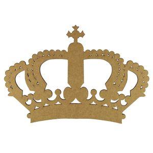 Aplique-Coroa-Imperial-em-MDF-20x135cm---Palacio-da-Arte