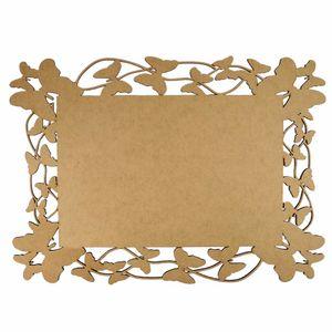 Moldura-em-MDF-Retangular-Lisa-40x29cm-Borboletas---Palacio-da-Arte