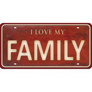 Placa-Decorativa-15x30cm-I-Love-my-Family-LPD-073---Litocart