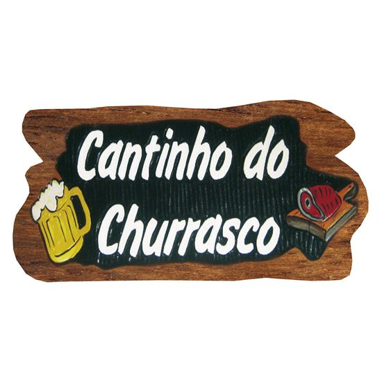 Placa-Decorativa-15x30cm-Cantinho-do-Churrasco-LPDR-014---Litocart