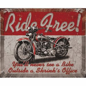 Placa-Decorativa-245x195cm-Ride-Free--LPMC-076---Litocart