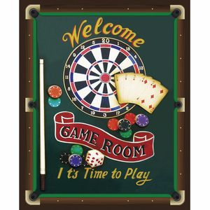Placa-Decorativa-245x195cm-Welcome-Game-Room-LPMC-084---Litocart