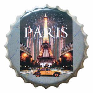 Placa-Decorativa-25x25cm-Paris-LPQC-026---Litocart