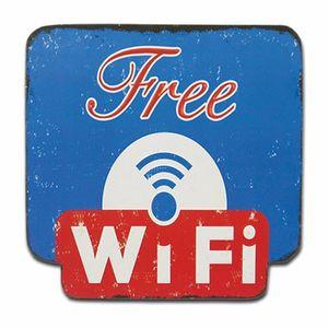 Placa-Decorativa-25x25cm-Free-Wi-Fi-LPQC-038---Litocart