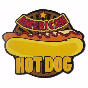 Placa-Decorativa-32x215cm-American-Hot-Dog-LPQM-029---Litocart