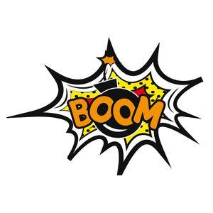 Placa-Decorativa-32x215cm-Boom-LPQM-034---Litocart