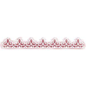 Stencil-para-Pintura-Simples-272X35cm-Rendado-Arabescos-STAB-003---Litoarte