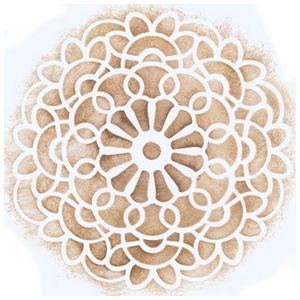 Stencil-para-Pintura-Simples-14X14cm-Rendado-Redondo-Espiral-STA-015---Litoarte