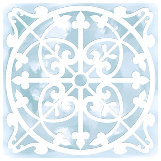 Stencil-para-Pintura-Simples-14X14cm-Azulejo-Canada-STA-019---Litoarte
