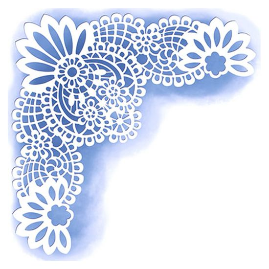 Stencil-para-Pintura-Simples-14X14cm-Cantoneira-Delicada-STA-027---Litoarte
