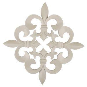 Enfeite-de-Parede-Flor-de-Lis-23x23cm---Resina