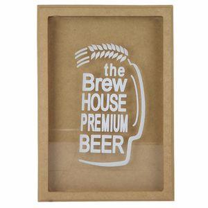 Quadro-Cofre-em-MDF-com-Vidro-335x23x37cm-The-Brew-House-Premium-Beer---Palacio-da-Arte