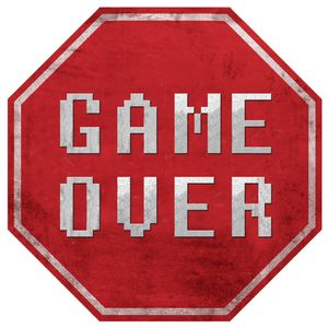 Placa-Decorativa-20X20cm-Game-Over-LPDXX-005---Litocart