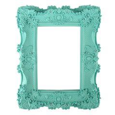 Moldura-Provencal-Retangular-com-Cantoneira-232x182cm-Azul-Tiffany---Resina