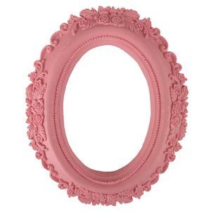Moldura-Oval-Rosas-20x16cm-Rosa-Antigo---Resina