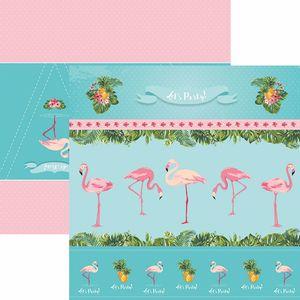 Papel-ScrapFesta-Toke-e-Crie-SDF748-Dupla-Face-305x305cm-Flamingos-Cenarios-e-Bandeirolas-by-Mariceli