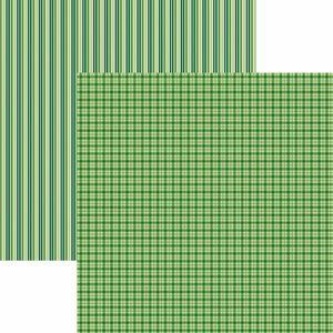 Papel-Scrapbook-Toke-e-Crie-KFSB497-Dupla-Face-305x305cm-Xadrez-e-Listras-Verde-by-Mariceli