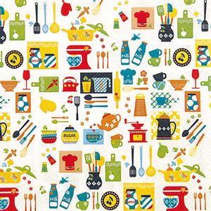 Guardanapo-Decoupage-Toke-e-Crie-GUA211522-2-unidades-Cozinha-Divertida