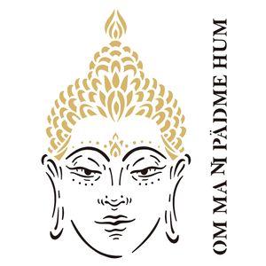 Estencil-OPA2288-Pintura-Simples-20X25-Religiao-Buda
