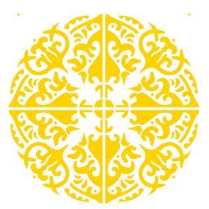 Estencil-OPA2285-Pintura-Simples-20X25-Mandala-III-Camada-II