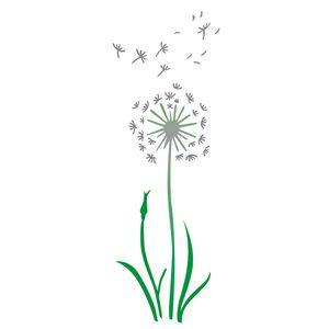 Estencil-OPA2255-Pintura-Simples-17x42-Flor-Dente-de-Leao