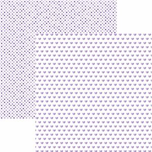 Papel-Scrapbook-Toke-e-Crie-KFSB512-Dupla-Face-305x305cm-Coracoes-e-Poa-Roxo-by-Mariceli
