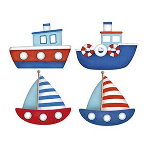 Aplique-Decoupage-Litoarte-APM3-189-em-Papel-e-MDF-3cm-Barcos-e-Navios