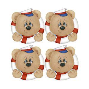 Aplique-Decoupage-Litoarte-APM3-191-em-Papel-e-MDF-3cm-Urso-Marinheiro