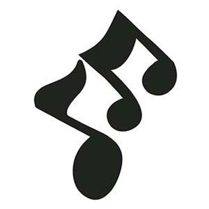 Aplique-Decoupage-Litoarte-APM4-148-em-Papel-e-MDF-4cm-Nota-Musicais