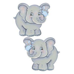 Aplique-Decoupage-Litoarte-APM4-256-em-Papel-e-MDF-4cm-Elefantes