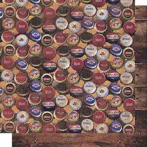 Papel-Scrapbook-Litoarte-SD-617-Dupla-Face-305X305cm-Tampas-Cerveja-e-Madeira