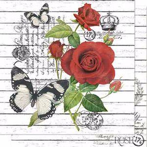 Papel-Scrapbook-Litoarte-SD-657-Dupla-Face-305X305cm-Rosas-e-Madeira