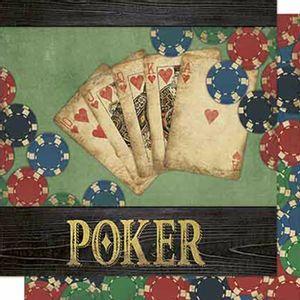 Papel-Scrapbook-Litoarte-SD-664-Dupla-Face-305X305cm-Poker
