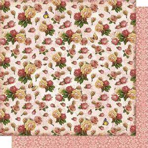 Papel-Scrapbook-Litoarte-SD-675-Dupla-Face-305X305cm-Rosas