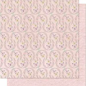 Papel-Scrapbook-Litoarte-SD-682-Dupla-Face-305X305cm-Arabesco-Rosa