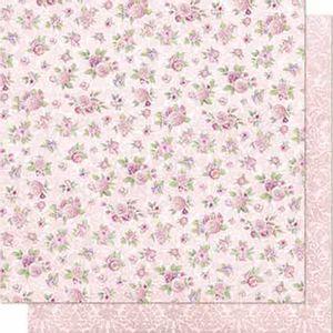 Papel-Scrapbook-Litoarte-SD-685-Dupla-Face-305X305cm-Flores-Rosa