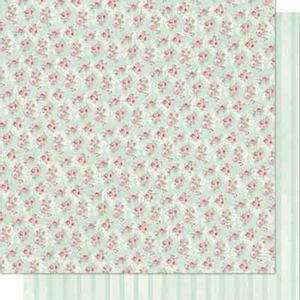 Papel-Scrapbook-Litoarte-SD-695-Dupla-Face-305X305cm-Rosas-e-Listras