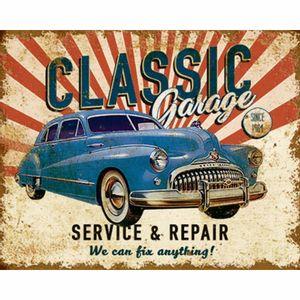 Placa-Decorativa-Litoarte-DHPM-213-24x19cm-Classic-Garage