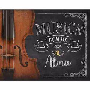 Placa-Decorativa-Litoarte-DHPM-221-24x19cm-Violino-Musica-Acalma-a-Alma