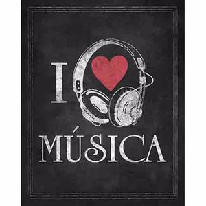 Placa-Decorativa-Litoarte-DHPM-224-24x19cm-I-Love-Musica